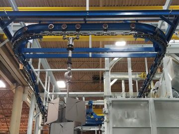 KSB Spinner Hanger Open Loop Track Traversing Hook