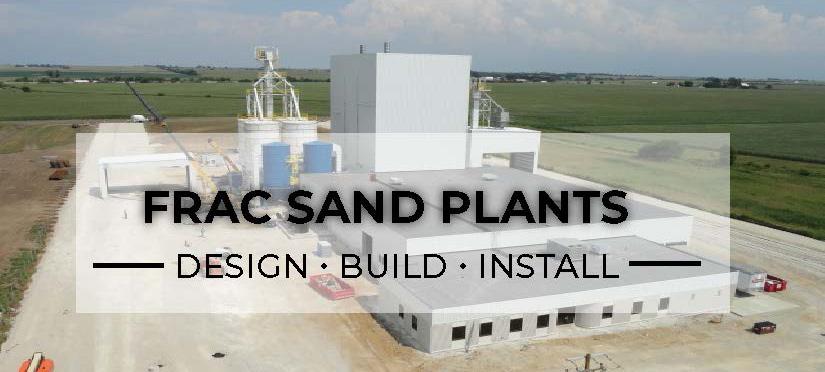 Frac Sand Plants Sinto America, Foundry Manufacturer