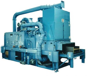 SCRA Structural Blast Machine