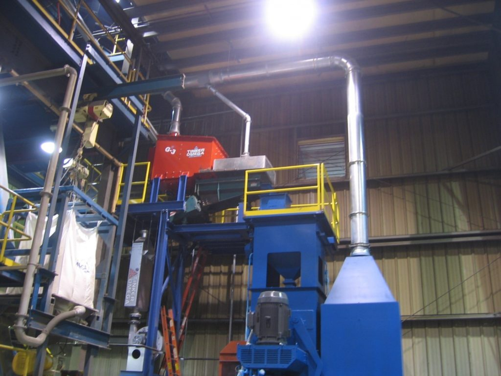 RSR in a green sand foundry
