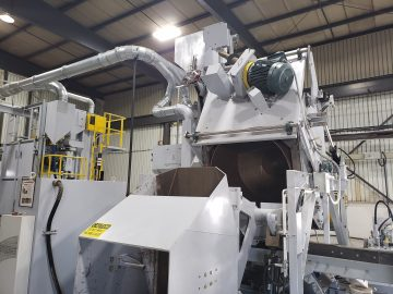 cndr drum blats shot blasting machine used