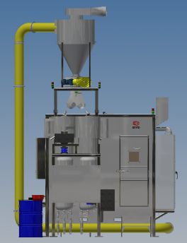 robotic peening machine Back View-Jan 2020