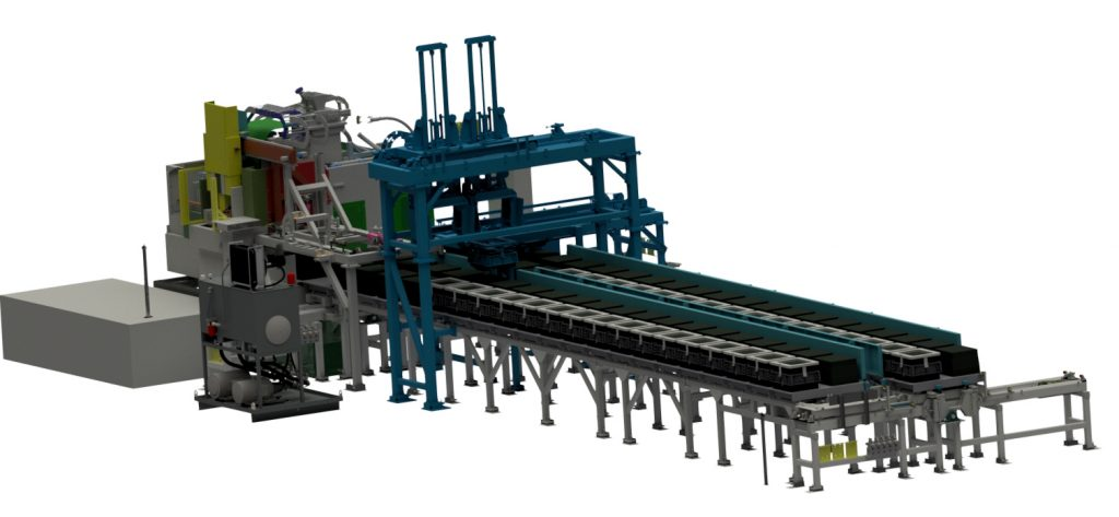 Maclean Power Systems Mold Handling System