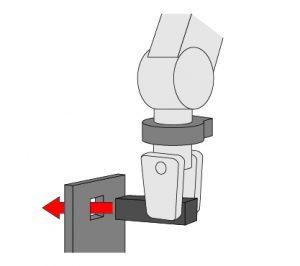 force sensor fitting